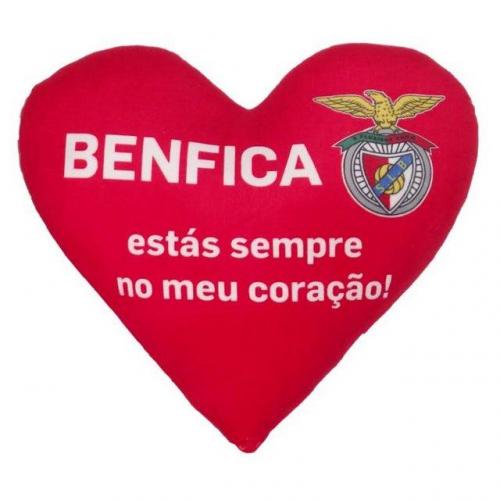 Almofada Coração SL Benfica (35 cm)