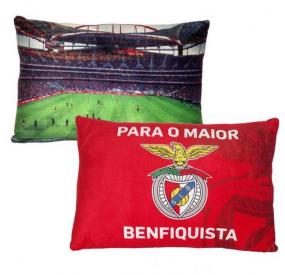 Almofada Retangular Estádio SL Benfica (40x25 cm)