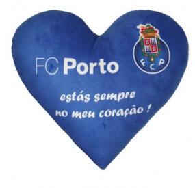 Almofada Coração FC Porto (35 cm)