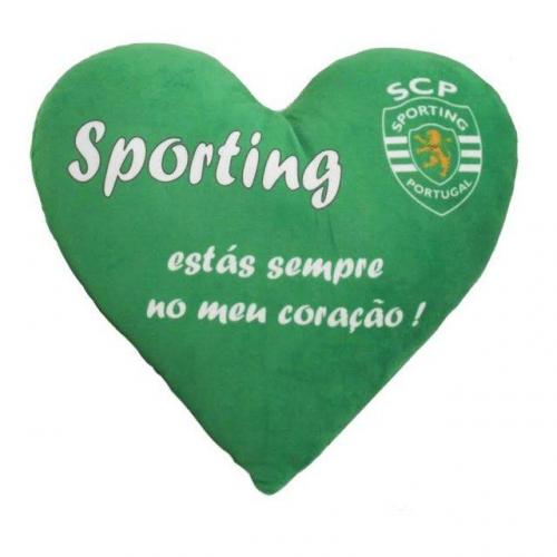 Almofada Coração Sporting CP (35 cm)